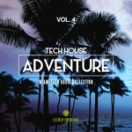 MIGUEL SERRANO/VARIOUS - Tech House Adventure Vol 4 (Miami Tech House Collection) (Front Cover)