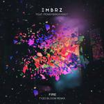 EMBRZ feat PENNYBIRDRABBIT - Fire (Front Cover)