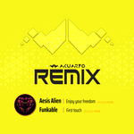 FUNKABLE/AESIS ALIEN - Remix (Front Cover)