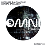 KAPPADEE & M PHANTASY - Critical Damage EP (Front Cover)