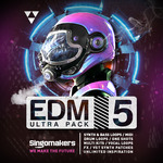 Singomakers: EDM Ultra Pack Vol 5 (Sample Pack WAV/APPLE/LIVE/REASON)