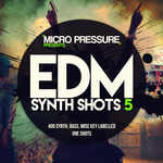 HY2ROGEN - EDM Synth Shots 5 (Sample Pack WAV/VSTi Presets) (Front Cover)