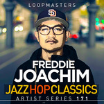 FREDDIE JOACHIM - Jazz Hop Classics (Sample Pack WAV/APPLE/LIVE/REASON) (Front Cover)