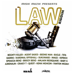 VARIOUS - Law Riddim (Front Cover)