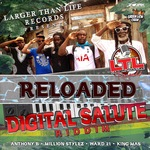 ANTHONY B/MILLION STYLEZ/WARD 21/KING MAS - Digital Salute Riddim (Re-Loaded) (Front Cover)