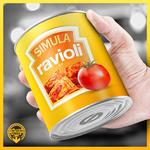 SIMULA - Ravioli (Front Cover)