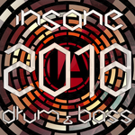 VARIOUS - Insane Drum & Bass 2018 (Front Cover)