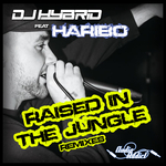 DJ HYBRID feat HARIBO - Raised In The Jungle Remixes (Front Cover)
