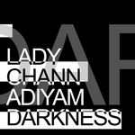 LADY CHANN feat ADIYAM - Darkness (Front Cover)