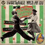 SWING REPUBLIC - Mo' Electro Swing Republic - Let's Misbehave (Deluxe Version) (Front Cover)