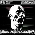 NEKROSYSTEM/KOMPREX - Italian Speedcore Brutality (Front Cover)