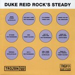 VARIOUS/DUKE REID - Duke Reid Rocks Steady (Front Cover)