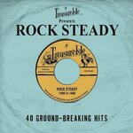 VARIOUS - Treasure Isle Presents/Rock Steady (Front Cover)
