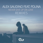 ALEX GAUDINO feat POLINA - Never Give Up On Love (Remixes) (Front Cover)