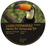 LUJAN FERNANDEZ - Hecho En Venezuela EP (Front Cover)