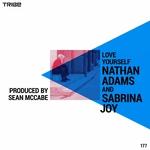 SABRINA JOY/NATHAN ADAMS - Love Yourself (Front Cover)