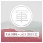 NAMARONE - Amen Business (Front Cover)