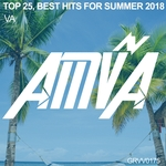 VARIOUS - Top 25 Best Hits For Summer 2018 (Front Cover)