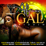 VARIOUS - African Gal Riddim (Front Cover)
