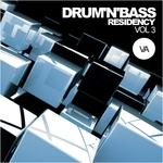 VARIOUS - Drum'n'Bass Residency Vol 3 (Front Cover)