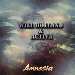 WILL HOLLAND/ACTIVA - Amnesia (Front Cover)
