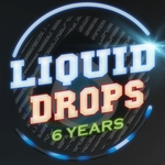 VARIOUS - 6 Years Liquid Drops (Front Cover)