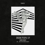 DARK MATE - Drunk People EP (Front Cover)