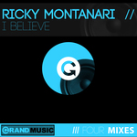 RICKY MONTANARI - I Believe (Front Cover)