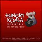 HUNGRY KOALA/VARIOUS - Hungry Koala On Air 002: 2018 (unmixed tracks) (Front Cover)