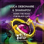 LUCA DEBONAIRE & SHARAPOV - Down The Road (The Black Cat) (Front Cover)