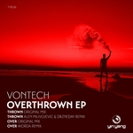 VONTECH - Overthrown EP (Front Cover)