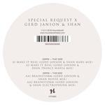 Special Request X Gerd Janson & Shan