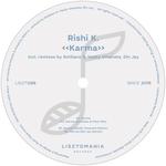 RISHI K - Karma (Front Cover)
