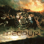 PEDPOUR - Yggdrasil & The Nine Worlds (Front Cover)