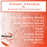 CLAIR HICKS & LOVE EXCHANGE - Push (In The Bush) (Front Cover)