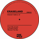 ERASELAND - From My Temple EP (Front Cover)