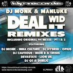 DJ MONK/MANLUKE - Deal Wid It (2018) (Front Cover)