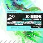 X-SIDE/ABSOLUM/ALIENN - Brain Device (Front Cover)