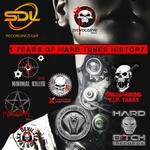 5 Years Of Hard Tunes History