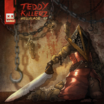 TEDDY KILLERZ - Hell Blade EP (Front Cover)