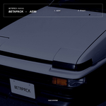 BETAPACK - AE86 (Front Cover)