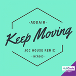 ADDAIR - Keep Moving EP (Front Cover)