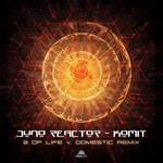 JUNO REACTOR - Komit (3 Of Life & Domestic Remix) (Front Cover)