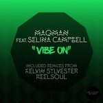 SELINA CAMPBELL/MAQMAN - Vibe On (Front Cover)
