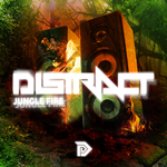 DISTRACT - Jungle Fire (Front Cover)