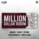 VARIOUS - Millon Dollar Riddim (Explicit) (Front Cover)