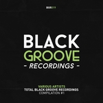 VARIOUS - Total Black Groove #1 (Front Cover)