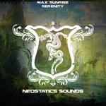 MAX SUNRISE - Serenity (Artist Album) (Front Cover)