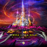 VERTEX & LYDIA DELAY - Rising Temple (Front Cover)