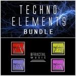 BFRACTAL MUSIC - Techno Elements Bundle (Sample Pack WAV) (Front Cover)